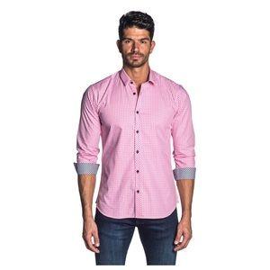 Jared Lang Men's L/S Gingham Check Sport Shirt L